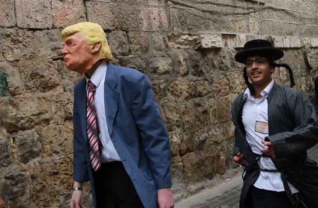 Purim Mea Shearim Jerusalem March 2017