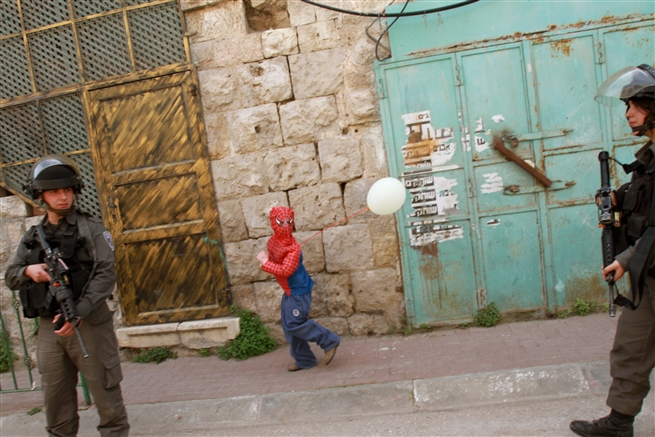 Purim in Hebron, March 2016
